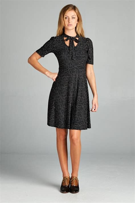 Dot Sleeve Dress sleeve polka dot dress lazy caturday and unique