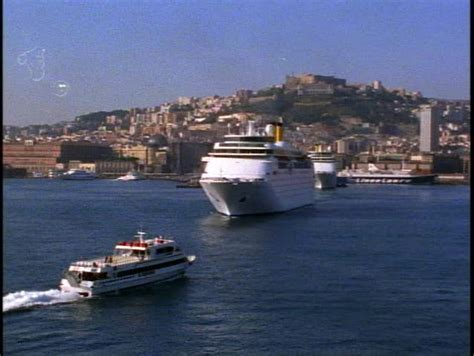 Many From Southern Italy Who Moved To Naples In Search Of Naples Italy Moving Into Harbor Zoom Out To Reveal