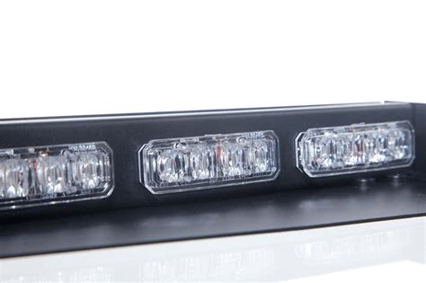interior led emergency light bar damega element interior led light bars warning and emergency light