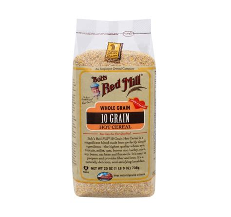 whole grains for 1 year 10 grain cereal bob s mill foods
