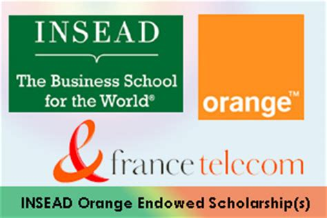 Insead Mba Admission Deadline by Insead Orange Mba Endowed Scholarship S For Emerging