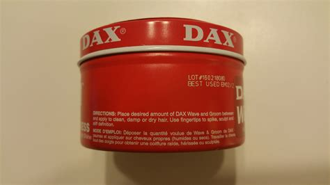 Pomade Dax Wave And Groom dax wave and groom a challenge to wash out style 4