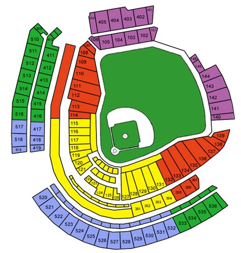 cincinnati reds seating chart with rows great american park seating chart great american