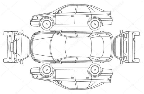 vehicle report diagram car line draw insurance rent damage condition report