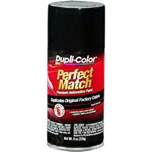color match spray paint dupli color bun0100 universal gloss black