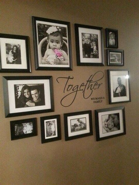 cadre d 233 co family wall collage photo wall