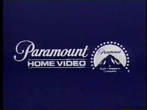 1979 1980 paramount home logo
