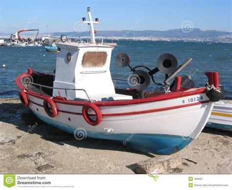 greek fishing boat plans greek fishing boat stock image image of fishing fish
