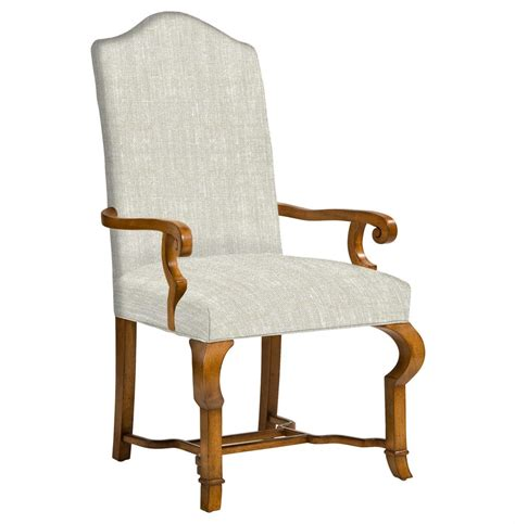 Dining Chairs With Arms Crawley Country Camel Back Dining Arm Chair Kathy Kuo Home