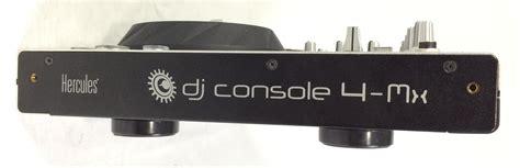 console da dj usate hercules dj console 4 mx attrezzatura per dj hercules
