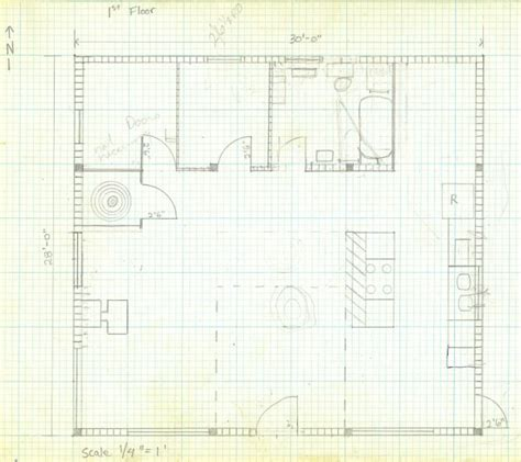 floor plan grid paper how to draw a house plan on graph paper
