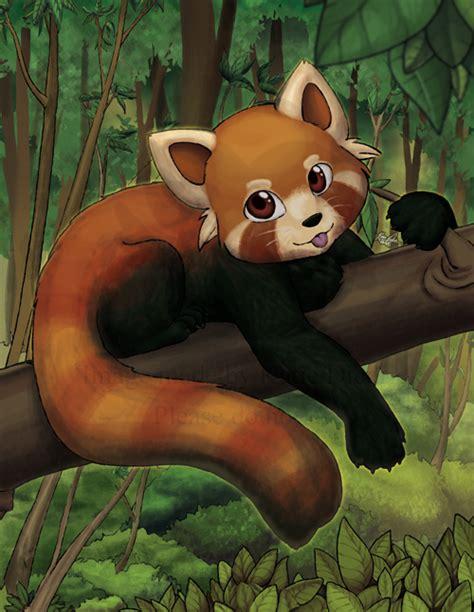 tattoo roter panda red panda cub by mewgal on deviantart