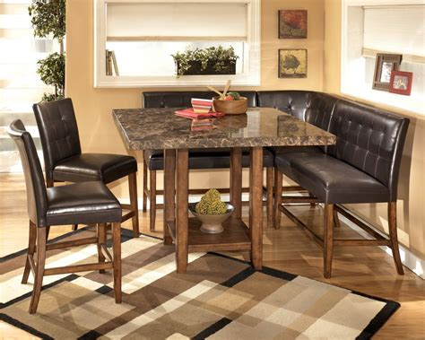 square kitchen table with bench elegant kitchen with fabulous corner nook kitchen table faux granite top square