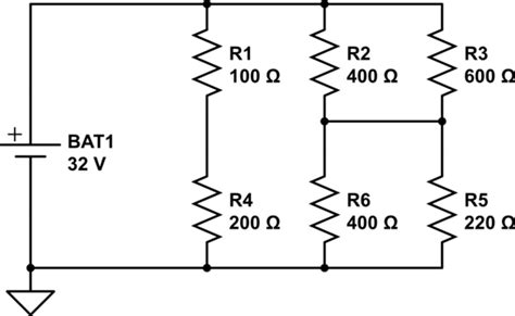 working out voltage across a resistor working out current voltage and resistance in a bridge circuit electrical engineering stack