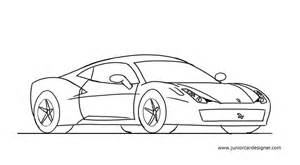 How To Draw Car How To Draw A 458 Junior Car Designer