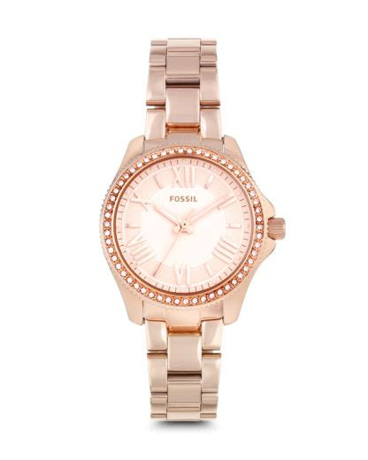 Cecille Rosegold fossil cecile ros 233 gold am4578 valmano juwelier