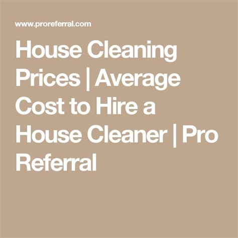 average house cleaning cost 25 b 228 sta house cleaning prices id 233 erna p 229 pinterest