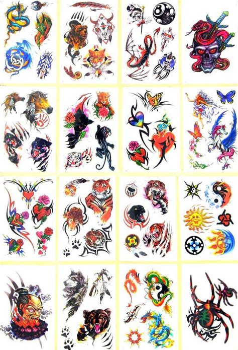 design fake tattoo awesome temporary tattoos new york island