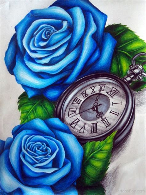 clock tattoos tattoo designs tattoo pictures page 27