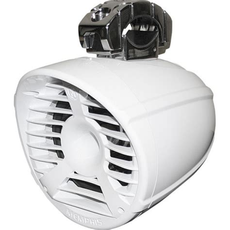 memphis boat tower speakers memphis 15 mm62tw white 6 5 quot marine 2 ohm 200 watts boat
