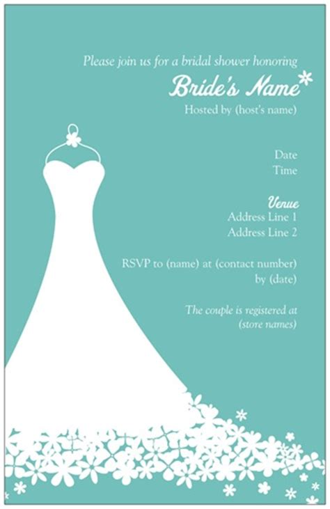 bridal shower invitation templates free free bridal shower invitation templates bridal shower