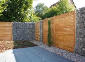 terrassen zaun projekte terrassen sichtschutz schallschutz