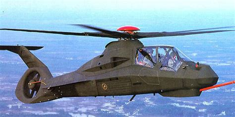 most powerful ducted fan stealth helicopter boeing sikorsky rah 66 comanche