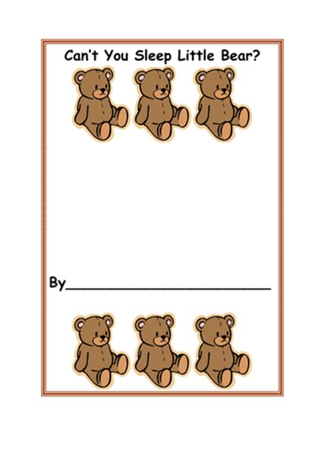 cant you sleep little can t you sleep little bear resource pack by bestprimaryteachingresources teaching resources