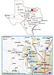 where is azle on the map frontier rv park directions