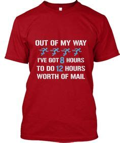 Office Hours Shirt postal worker sign quot you can t scare me i work for
