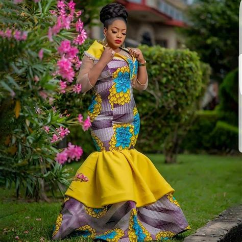 Simple Styles For Ankara Long Gown