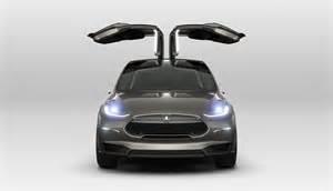 Electric Car Tesla Model X 6 Rivals For The 2015 Tesla Model X Suv