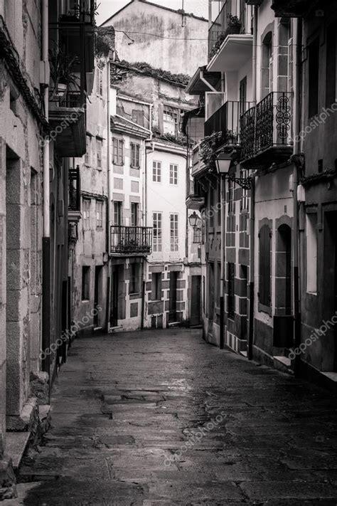 imagenes antiguas street view calle de viveiro lugo galicia espa 241 a foto de stock