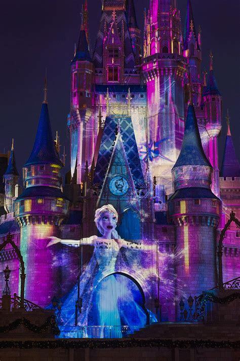 Frozen Castle frozen segment added to celebrate the magic at magic kingdom park 171 disney parks