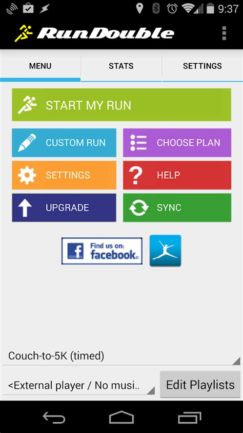 best couch to 5k app for android couch to 5k by rundouble android apps on google play