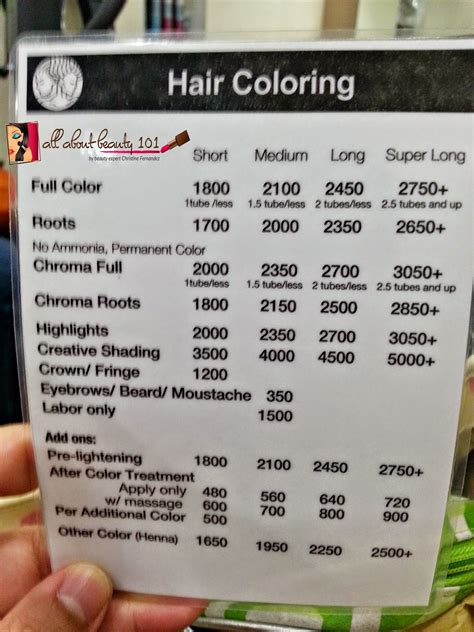 regis hair cut prices regis hair salon prices hair color choice image hair