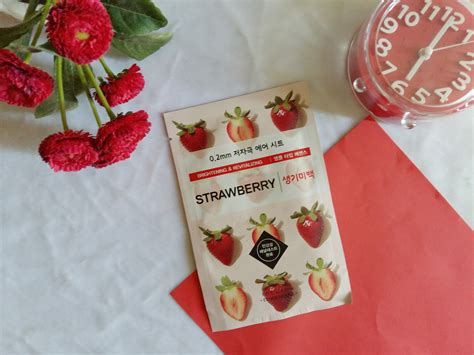 Masker Etude Di Indonesia review etude house 0 2 therapy air mask strawberry