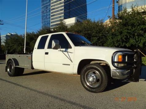how cars run 1994 chevrolet 3500 electronic throttle control buy used good running 1994 chevrolet 3500 ext cab gas dually flat bed low miles clean in