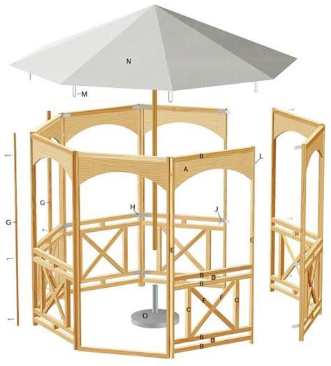 progetto gazebo oltre 10 fantastiche idee su gazebo da giardino su