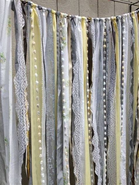 fabric strip curtains best 25 rag curtains ideas on pinterest fabric strip