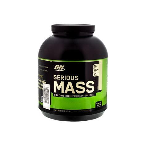 Optimum Nutrition On Serious Mass 2 Kg Repack Trial Size Weight Gainer serious mass 2 730kg optimum nutrition prot 233 ines center