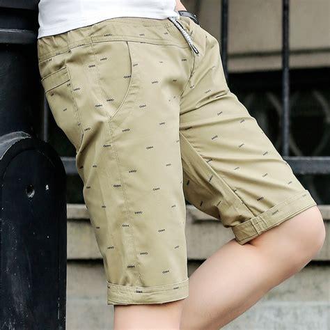 Celana Pendek Pria Print 2 celana chinos pendek pria size xl