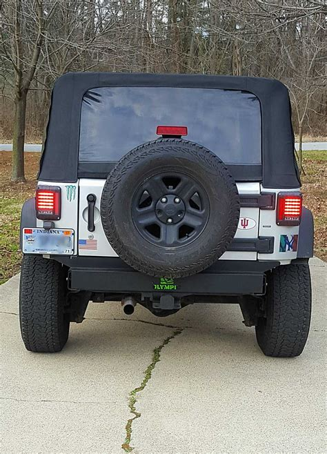 jeep jk frame olympic 4x4 products rear frame cover for 07 18 jeep