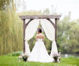 how to make a rustic wedding arch 25 best ideas about rustic arbor on wedding