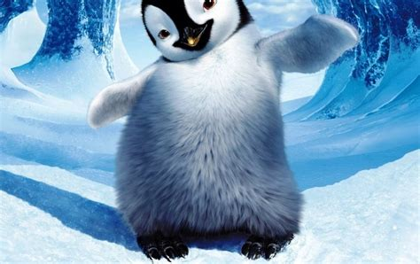 cartoon picture happy feet picture 1