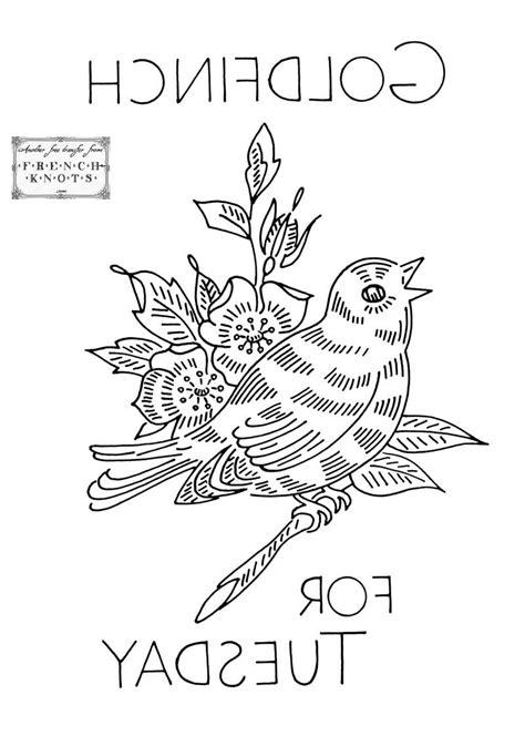 embroidery riscos bird embroidery patterns risco de passarinho bordado