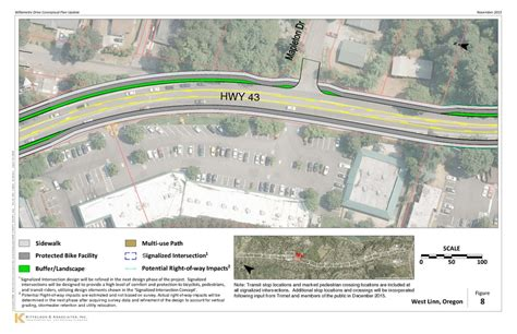 layout plan updated layout page 8 highway 43 conceptual design plan update
