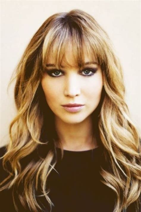 best bangs for high forehead fine hair blunt bangs for big forehead women hairstyles