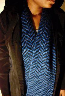 knitting pattern herringbone scarf double knitting reversible herringbone scarf free