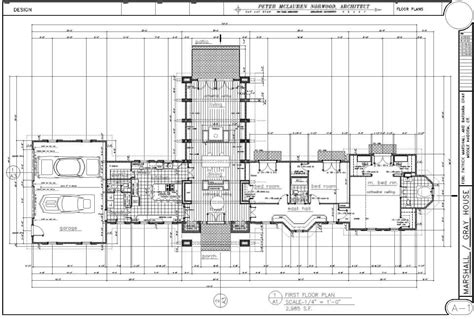autocad section drawing drawings autocad